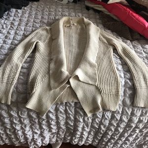 Cream cardigan